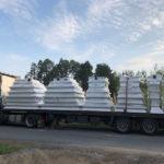 Rectangular silos